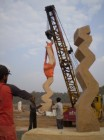 <p><strong>ITM Univers &ndash; Gwalior (India) 2006</strong><br /> International Sculptors' Symposium</p>
